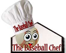Baseball Chef Logo